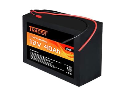 tracer 12v 40ah lifepo4 battery module. Black Bedroom Furniture Sets. Home Design Ideas
